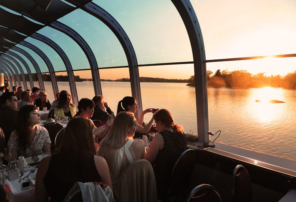 Sunset Dinner Cruise Dining Kingston Ontario And The
